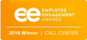EE Employee Engagement Award 2016 Call center Winner