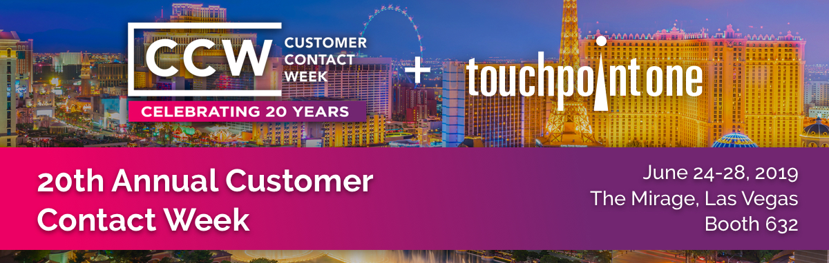 TouchPoint One to Showcase Contact Center Performance Management Solutions at 20th Annual Customer Contact Week