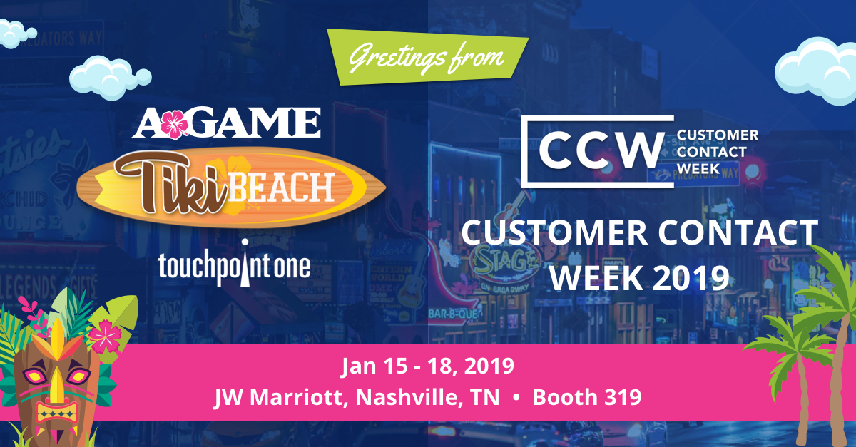 TouchPoint One to Present Contact Center Performance Management and Employee Engagement Solutions at CCW Winter 2019